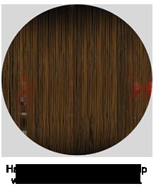 לייזר ממכשירים אחרים נחסם על ידי השיער הקיים